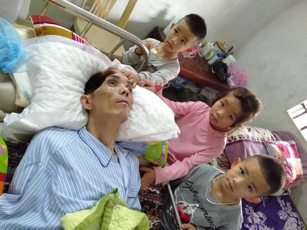 Điều ước trong nước mắt của 3 đứa trẻ bất hạnh ngày cận Tết: Chị em cháu chỉ mong bố tỉnh lại - Ảnh 1.