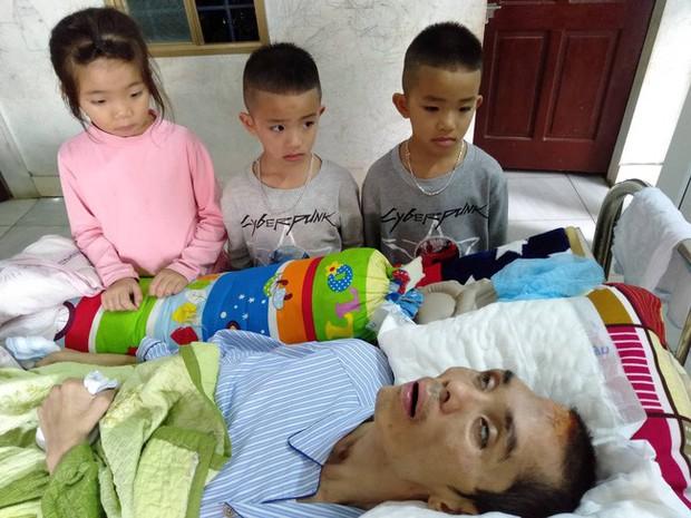 Điều ước trong nước mắt của 3 đứa trẻ bất hạnh ngày cận Tết: Chị em cháu chỉ mong bố tỉnh lại - Ảnh 6.