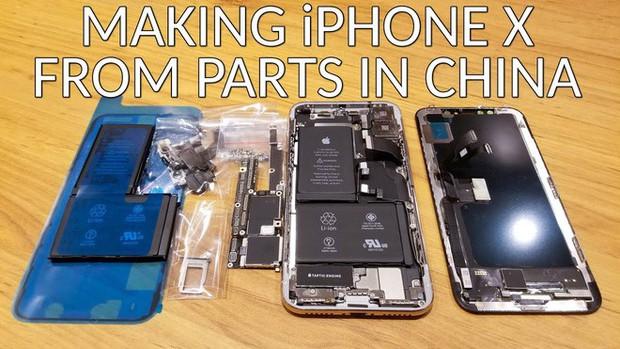 Anh chàng YouTuber tự chế một chiếc iPhone X từ linh kiện Trung Quốc mua ngoài chợ, chi phí chỉ 500 USD - Ảnh 1.