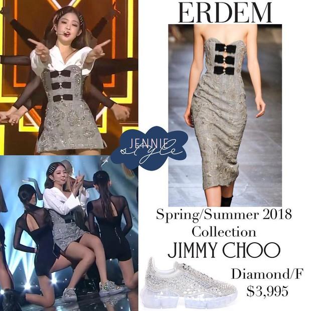 Vẫn là váy cũ nhưng cách Jennie mặc trước và sau khi chia tay thật sự ra dáng độc thân tỏa sáng - Ảnh 3.