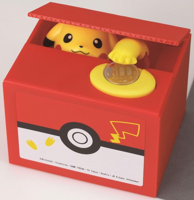 Chiêm ngưỡng hộp tiết kiệm Pikachu siêu dễ thương, đã gửi tiền vào là không muốn rút ra - Ảnh 4.