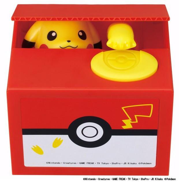 Chiêm ngưỡng hộp tiết kiệm Pikachu siêu dễ thương, đã gửi tiền vào là không muốn rút ra - Ảnh 5.