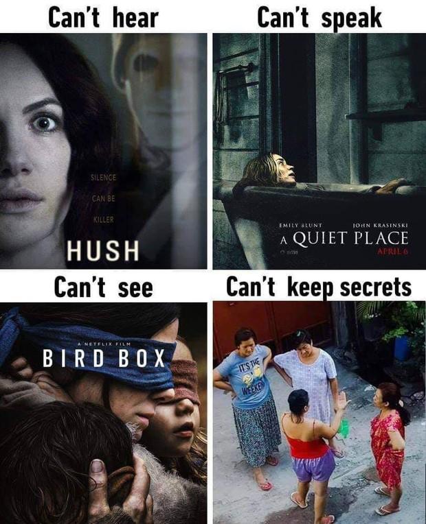 """Nhiễm phim """"Bird Box"""" tới mức nguy hiểm báo động, Netflix phải khuyến cáo người xem dừng lại - Ảnh 2."""