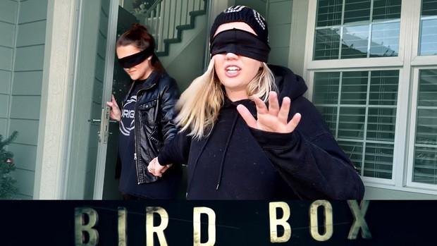 """Nhiễm phim """"Bird Box"""" tới mức nguy hiểm báo động, Netflix phải khuyến cáo người xem dừng lại - Ảnh 5."""