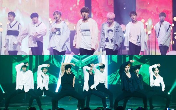Fan bị cáo buộc chơi bẩn đến mức có hành vi phạm pháp để EXO qua mặt BTS trước thềm Grammy Hàn Quốc - Ảnh 3.