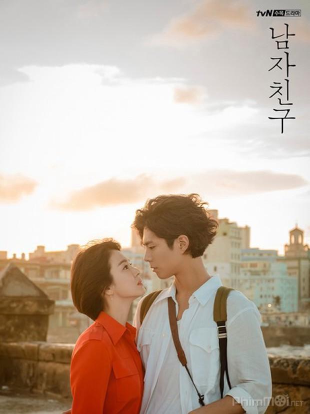 Mặc kệ Park Bo Gum hôn Song Hye Kyo ngấu nghiến, rating Encounter vẫn giảm mạnh - Ảnh 2.