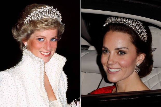 8 món trang sức Kate và Meghan được thừa hưởng từ Công nương Diana: không hoành tráng, lộng lẫy thì cũng đặc biệt tinh tế - Ảnh 2.