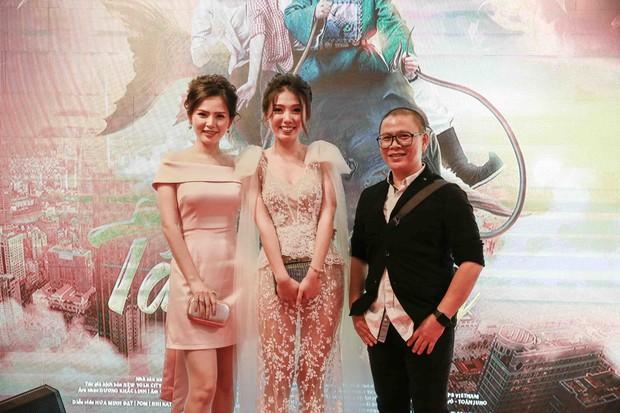 Lâm Vỹ Dạ và các con đến ủng hộ ông xã Hứa Minh Đạt trong buổi ra mắt phim Táo Quậy - Ảnh 6.