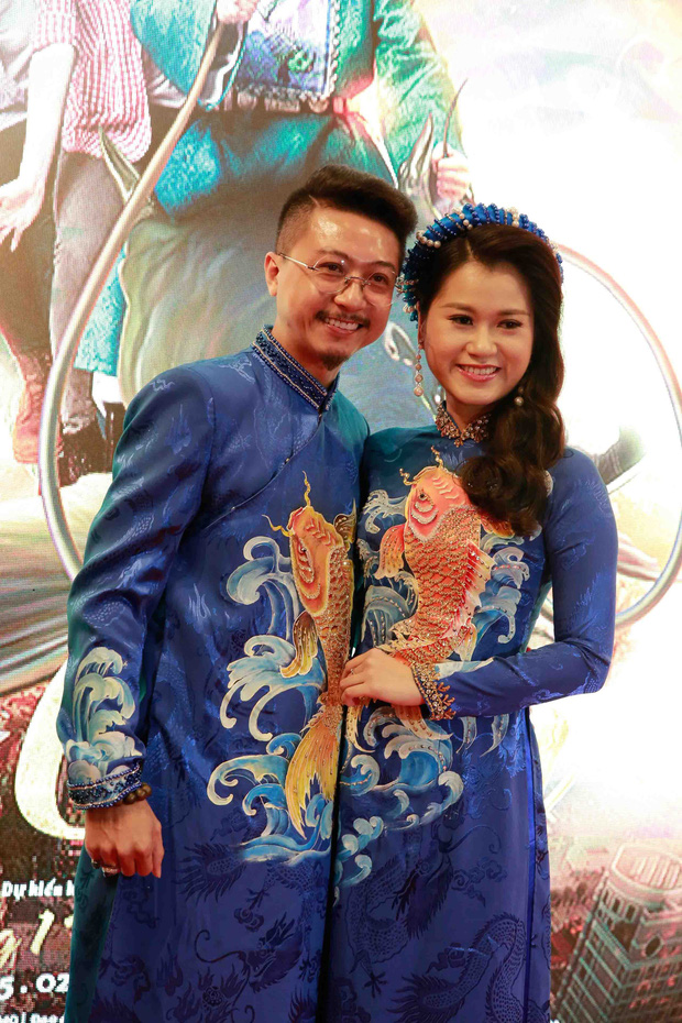 Lâm Vỹ Dạ và các con đến ủng hộ ông xã Hứa Minh Đạt trong buổi ra mắt phim Táo Quậy - Ảnh 3.