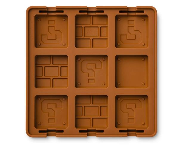 Sắm ngay khuôn silicon kiểu Mario để sau Tết đúc chocolate cho người yêu ăn vào dịp Valentine - Ảnh 1.