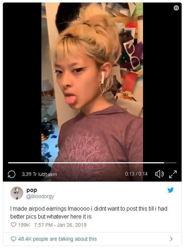 Góc thiên tài: Biến AirPods thành khuyên để không bị rơi mất - Ảnh 2.