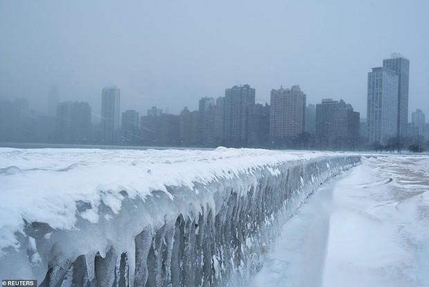 Thời tiết điên rồ: Nhiều nơi đón mùa xuân, riêng ở Mỹ rét hơn cả Alaska và Nam Cực - Ảnh 3.
