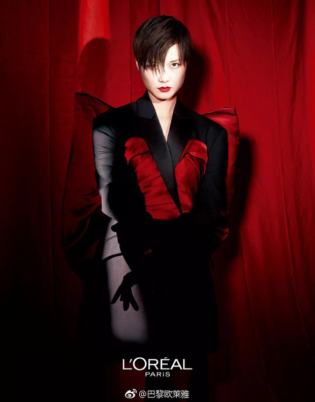 """Không phải Phạm Băng Băng – Angela Baby, ca sĩ """"nam tính"""" này mới là mỹ nhân khí chất nhất khi quảng cáo son môi được netizen gọi tên - Ảnh 7."""