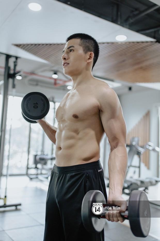 Sao & Gym: Điều chưa bao giờ tiết lộ về cách tập luyện của Quốc Thiên, giúp anh lọt top mỹ nam sở hữu body cực phẩm Vbiz! - Ảnh 3.