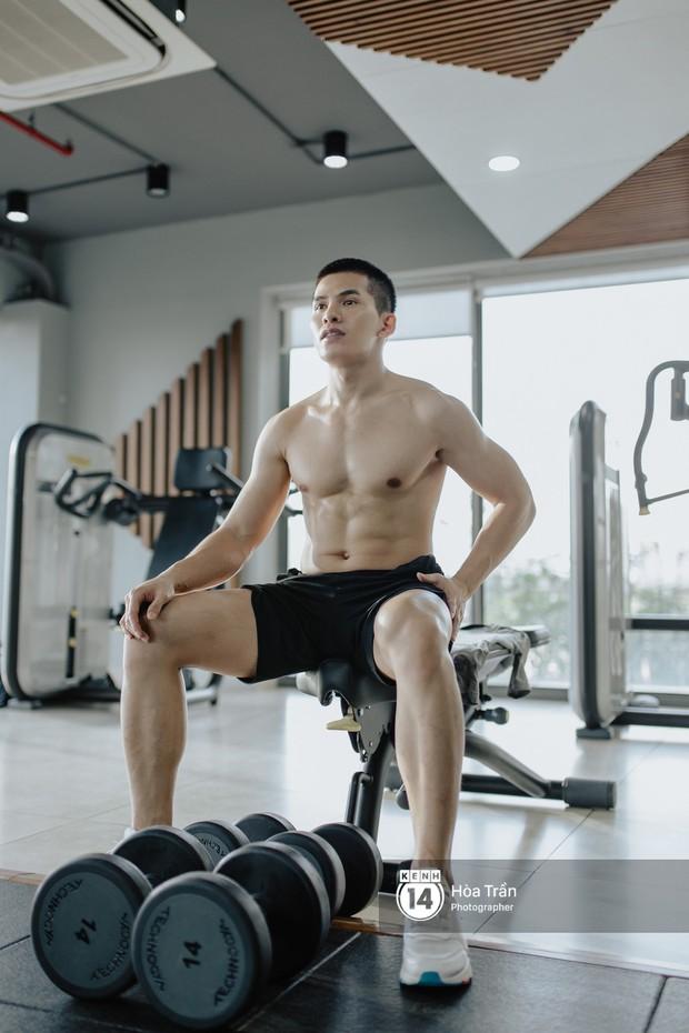 Sao & Gym: Điều chưa bao giờ tiết lộ về cách tập luyện của Quốc Thiên, giúp anh lọt top mỹ nam sở hữu body cực phẩm Vbiz! - Ảnh 4.