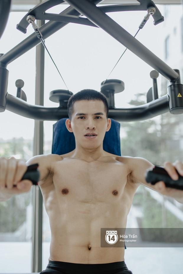Sao & Gym: Điều chưa bao giờ tiết lộ về cách tập luyện của Quốc Thiên, giúp anh lọt top mỹ nam sở hữu body cực phẩm Vbiz! - Ảnh 5.