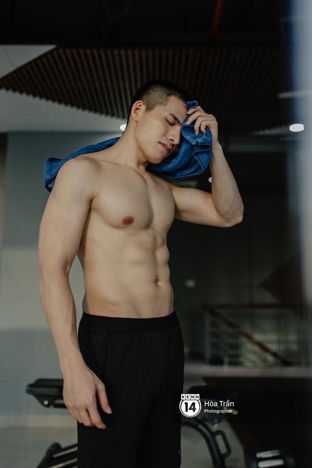 Sao & Gym: Điều chưa bao giờ tiết lộ về cách tập luyện của Quốc Thiên, giúp anh lọt top mỹ nam sở hữu body cực phẩm Vbiz! - Ảnh 7.