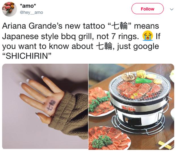 Quê như Ariana Grande: Xăm chữ tiếng Nhật cho cá tính mà lại bị phát hiện nội dung sai nghĩa! - Ảnh 2.