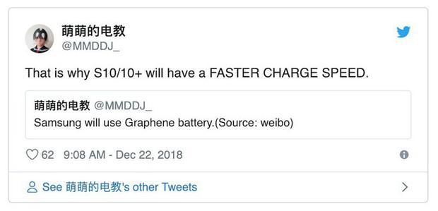 Tính năng mới hấp dẫn nhất trên Galaxy S10 sẽ là công nghệ pin chưa smartphone nào từng sở hữu - Ảnh 2.