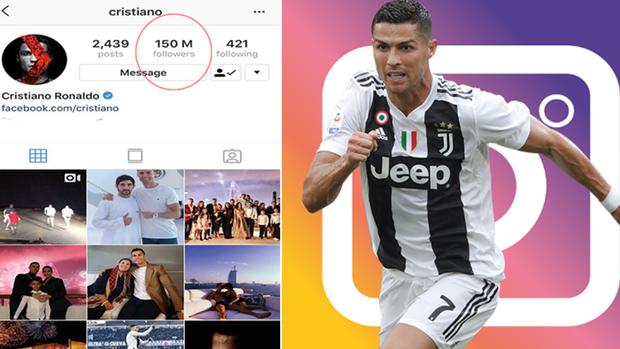 Cristiano Ronaldo đã trở thành người đầu tiên trên thế giới có 150 triệu lượt follow trên Instagram - Ảnh 3.