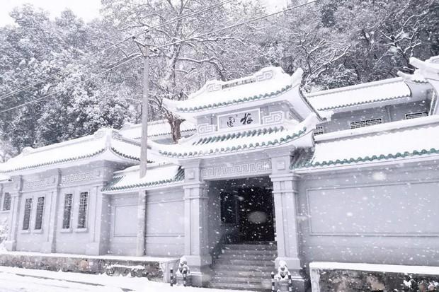 Tuyết rơi trắng trời tạo nên khung cảnh đẹp nao lòng tại các trường đại học - Ảnh 14.