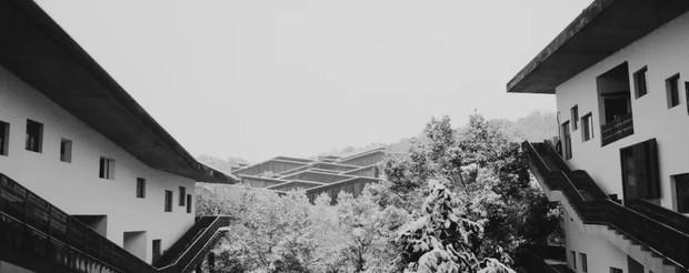 Tuyết rơi trắng trời tạo nên khung cảnh đẹp nao lòng tại các trường đại học - Ảnh 17.