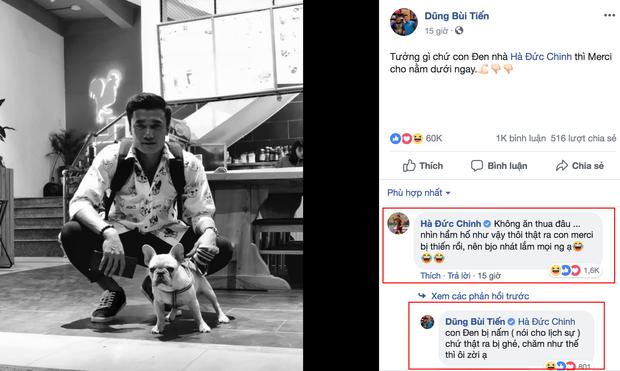Cặp bạn thân Bùi Tiến Dũng - Hà Đức Chinh bỗng khẩu chiến trên MXH vì... một chú chó cưng - Ảnh 4.