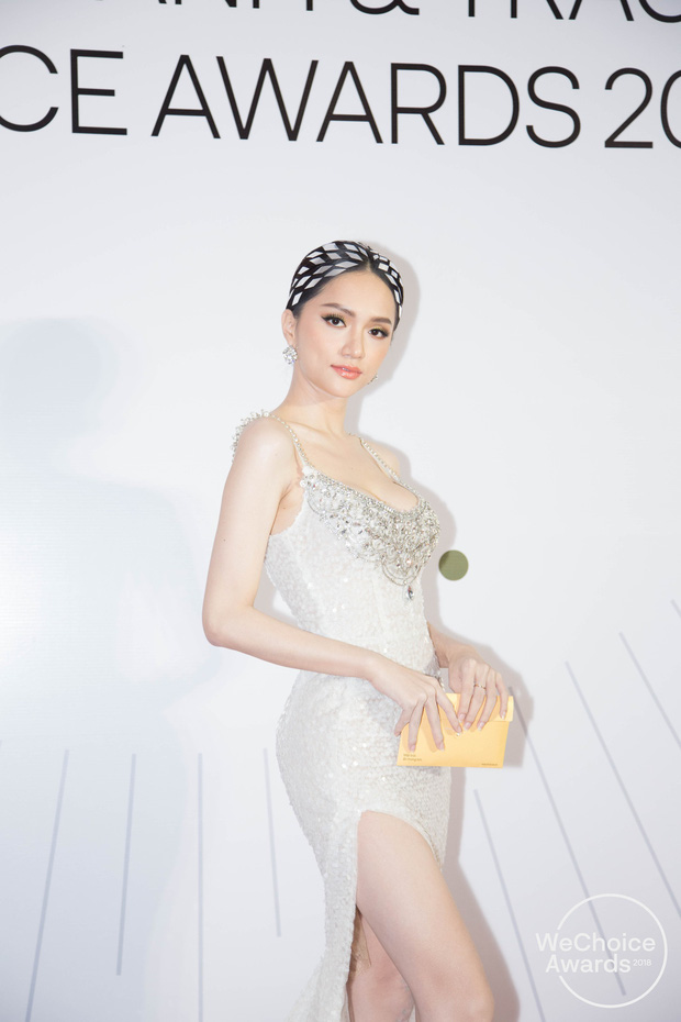 Màn đọ sắc cực gắt của dàn Hoa hậu đình đám nhất Vbiz trên thảm đỏ WeChoice: Sang chảnh và đỉnh cao là đây! - Ảnh 4.