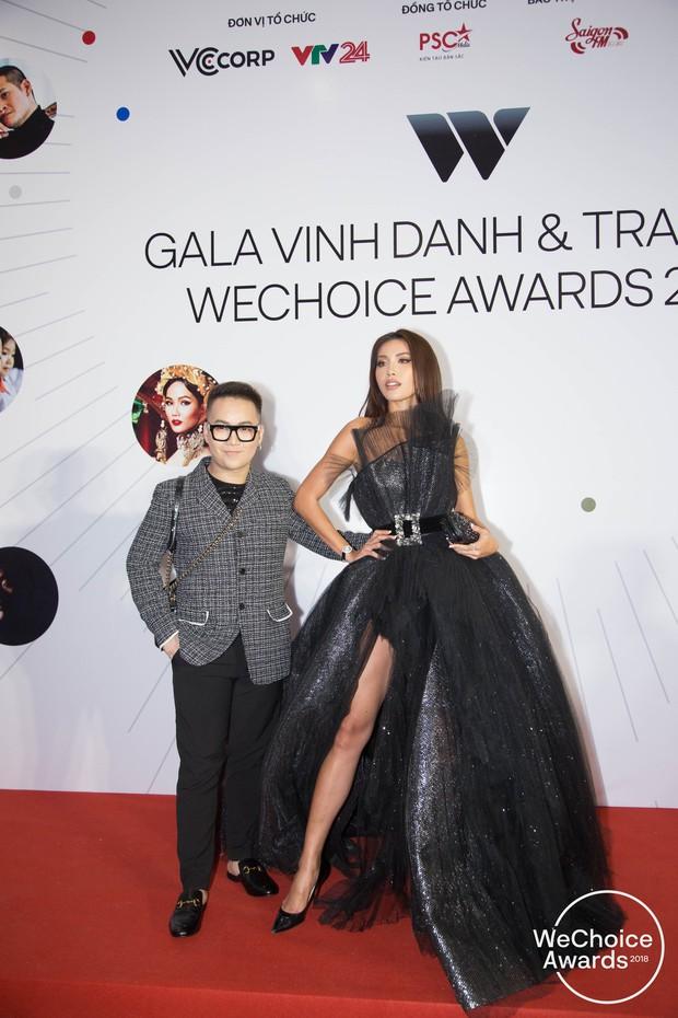 Màn đọ sắc cực gắt của dàn Hoa hậu đình đám nhất Vbiz trên thảm đỏ WeChoice: Sang chảnh và đỉnh cao là đây! - Ảnh 16.