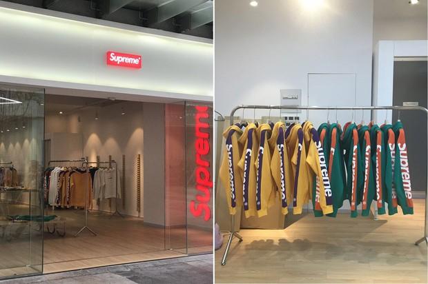 Supreme fake sắp mở store hoành tráng không thua gì hãng xịn ở Thượng Hải - Ảnh 2.