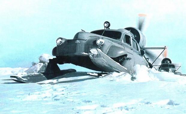 Xe ô tô trượt địa hình bằng động cơ máy bay của Liên Xô – như viễn tưởng mà hóa ra là có thật - Ảnh 2.
