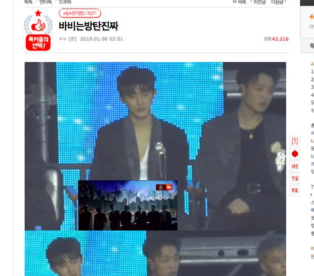 Tranh cãi thái độ bĩu môi của Bobby và B.I (iKON) khi xem clip BTS xuất hiện tại Golden Disc Awards 2019 - Ảnh 5.