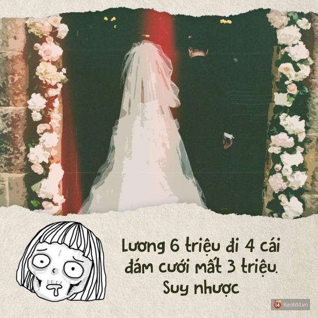 Sạt nghiệp vì đi ăn cưới: Tiền phong bì đã tốn mà còn phải lo váy áo, make up để không thua chị kém em - Ảnh 1.