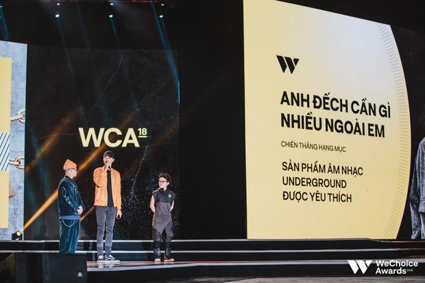 Kết quả chung cuộc WeChoice 2018 hạng mục giải trí: Vũ Cát Tường và loạt nghệ sĩ được gọi tên, Đen gây bất ngờ nhất - Ảnh 5.