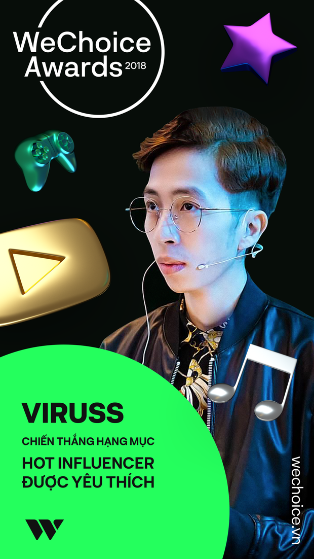 ViruSs chiến thắng hạng mục Hot Influencer, Cầu Vàng là địa điểm chụp ảnh check in được yêu thích nhất tại WeChoice Award 2018 - Ảnh 4.