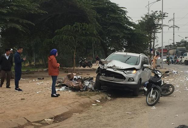Nam thanh niên 9X lái ô tô gây tai nạn liên hoàn khiến đôi vợ chồng tử vong ra công an trình diện - Ảnh 3.