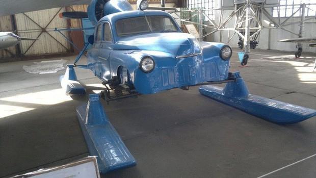 Xe ô tô trượt địa hình bằng động cơ máy bay của Liên Xô – như viễn tưởng mà hóa ra là có thật - Ảnh 9.