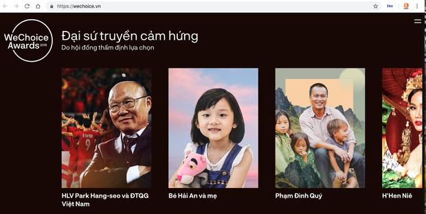 HLV Park Hang-seo và đội tuyển Việt Nam được tôn vinh tại WeChoice Awards 2018 - Ảnh 4.