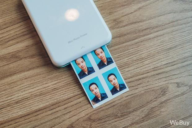 Bỏ ra 3.3 triệu cho chiếc máy in ảnh thẻ mọi lúc mọi nơi, không cần thay mực như thế này, bạn có dám không?