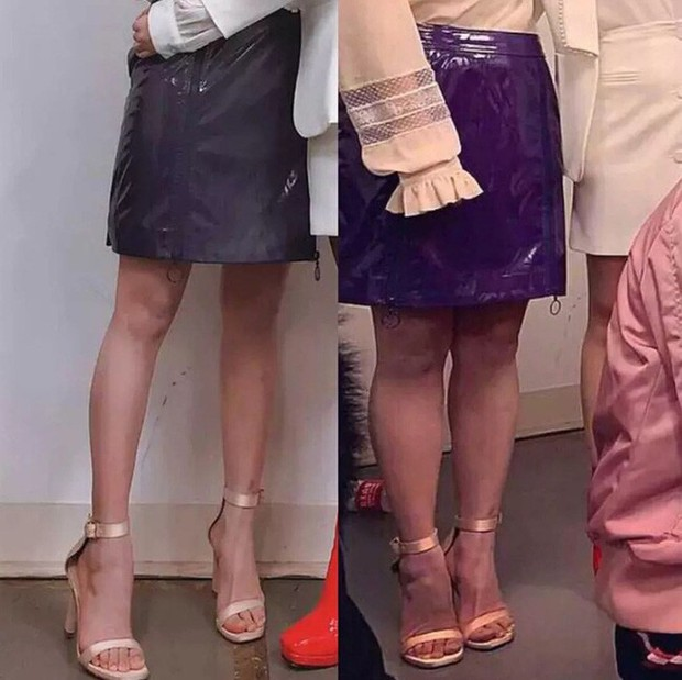 Triệu Vy, Dương Mịch, Angela Baby... bị bóc mẽ đôi chân thiếu nuột nà trong loạt ảnh trước và sau photoshop - Ảnh 2.