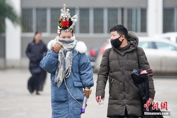 Cả một trời trai xinh gái đẹp xúng xính váy áo cổ trang dự thi vào trường nghệ thuật lớn hàng đầu ở Trung Quốc - Ảnh 7.