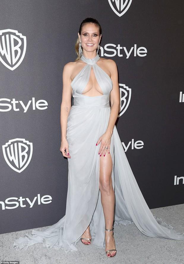 Vòng 1 khủng hơn xưa, Taylor Swift tự tin chặt chém dàn sao nữ nóng bỏng tại tiệc hậu Quả Cầu Vàng 2019 - Ảnh 5.