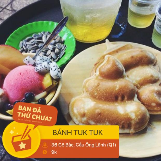 Sài Gòn có món bánh Tuk Tuk trông thì giống thứ mà ai cũng dè chừng nhưng lại được nhiều người yêu thích - Ảnh 8.