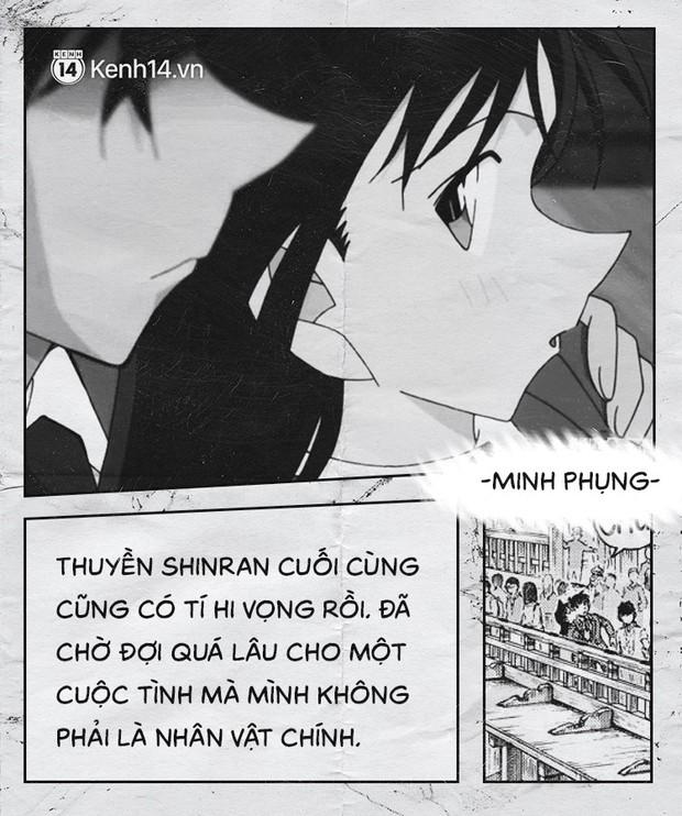 Fan của cặp Shinichi và Ran suốt 23 năm: Chúng ta đã quá kiên nhẫn trong một cuộc tình mà mình không phải vai chính! - Ảnh 11.