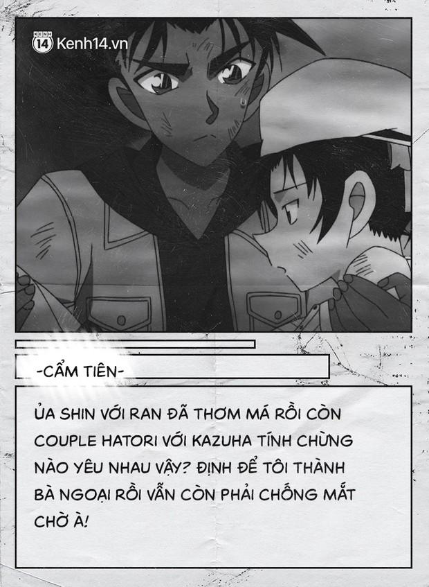 Fan của cặp Shinichi và Ran suốt 23 năm: Chúng ta đã quá kiên nhẫn trong một cuộc tình mà mình không phải vai chính! - Ảnh 19.