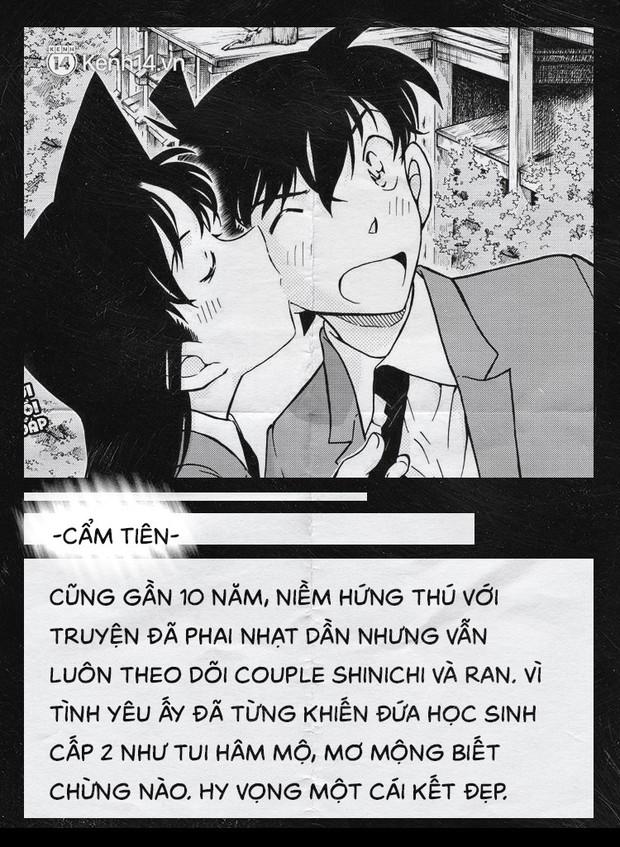 Fan của cặp Shinichi và Ran suốt 23 năm: Chúng ta đã quá kiên nhẫn trong một cuộc tình mà mình không phải vai chính! - Ảnh 9.