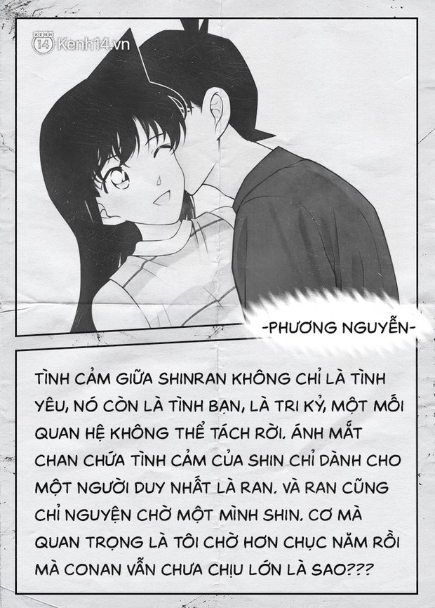 Fan của cặp Shinichi và Ran suốt 23 năm: Chúng ta đã quá kiên nhẫn trong một cuộc tình mà mình không phải vai chính! - Ảnh 5.