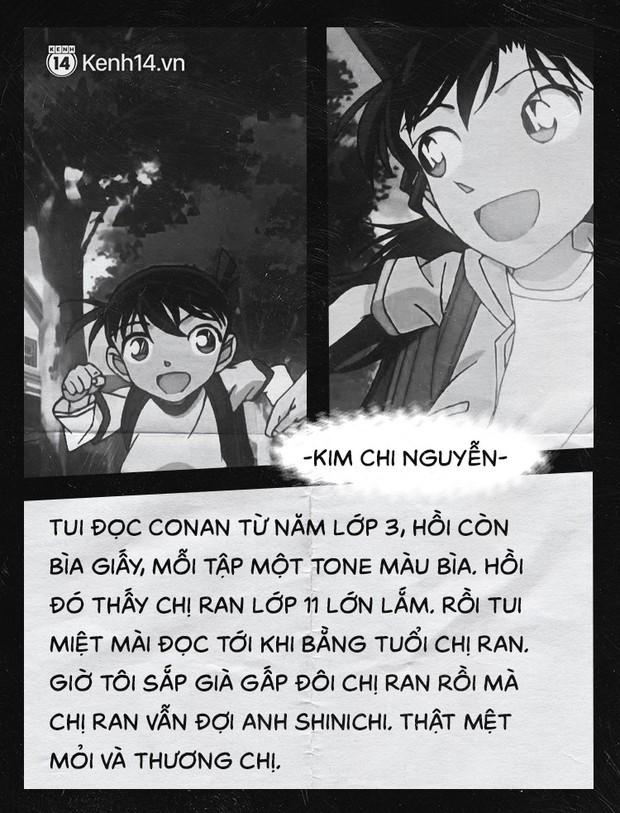 Fan của cặp Shinichi và Ran suốt 23 năm: Chúng ta đã quá kiên nhẫn trong một cuộc tình mà mình không phải vai chính! - Ảnh 3.