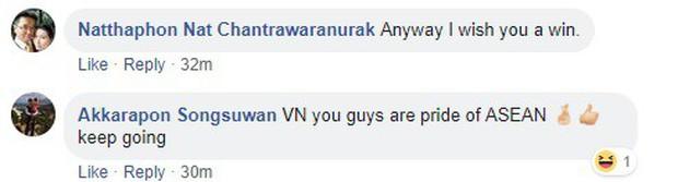 CĐV Thái Lan, Indonesia tiếc vì Việt Nam thua, gọi thầy trò HLV Park Hang-seo là niềm tự hào của Đông Nam Á - Ảnh 4.