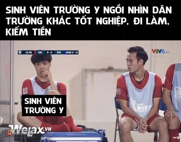 Những bức ảnh chế lầy lội đỉnh cao lấy cảm hứng từ các cầu thủ đội tuyển Việt Nam - Ảnh 9.